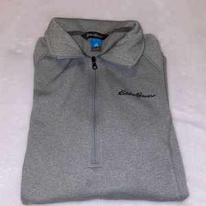 Eddie Bauer Firstascent Pullover Grey Sweater Med